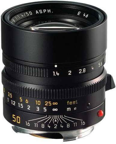Leica Summilux-M 50mm f/1.4 ASPH Lens by Leica at bandccamera