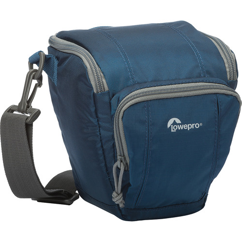 Lowepro Toploader Zoom Holster Bag 45 AW II (Galaxy Blue) - B&C Camera - 1