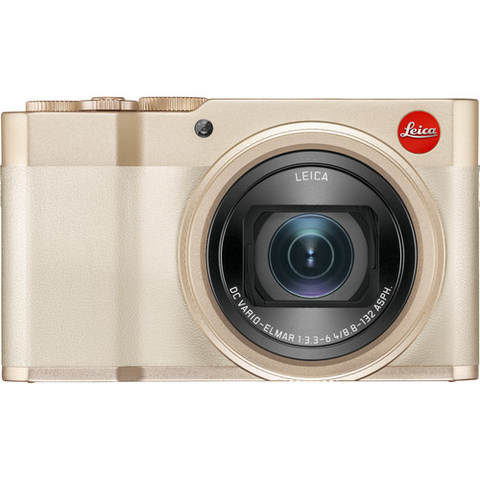Leica C-Lux Digital Camera (Light Gold) by Leica at B&C Camera