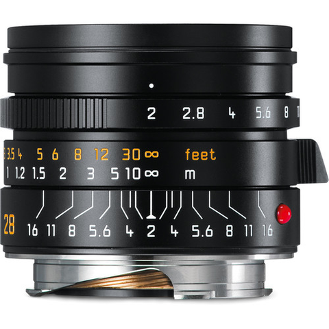 Leica Summicron-M 28mm f/2 ASPH Lens by Leica at bandccamera