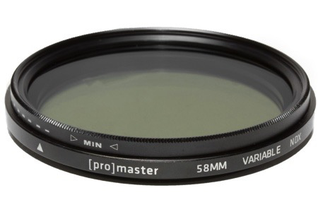 Promaster 58mm Digital HGX Variable ND Lens Filter by Promaster at B&C Camera