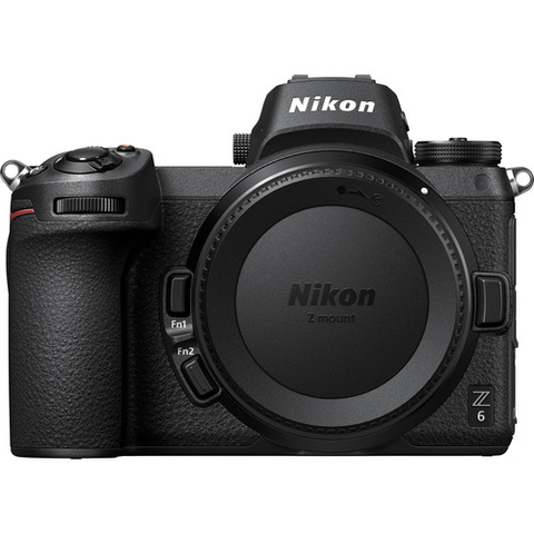 Nikon Z6 Mirrorless Digital Camera (Body Only) by Nikon at bandccamera