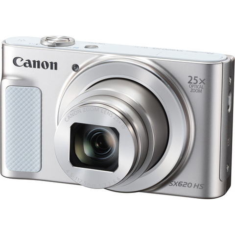 Canon PowerShot SX620 HS Digital Camera (Silver) by Canon at bandccamera