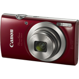Canon PowerShot ELPH 180 Digital Camera (Red) - B&C Camera