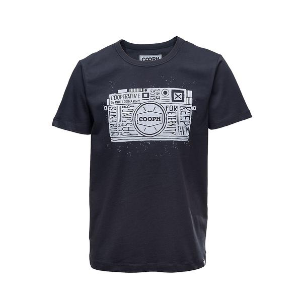 COOPH T-Shirt ONE-EYED-TWO (ANTHRACITE)-XL LARGE - B&C Camera