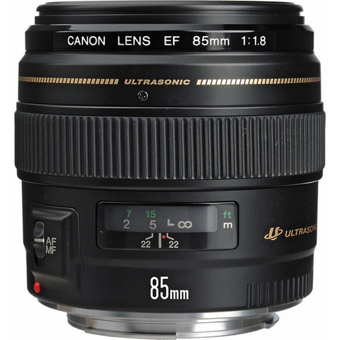 Canon EF 85mm f/1.8 USM by Canon at B&C Camera