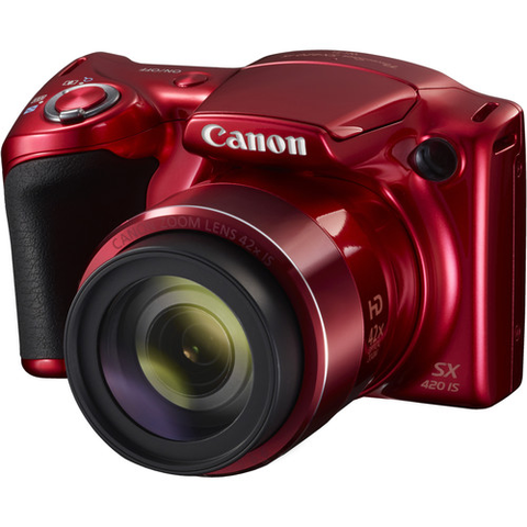 Canon PowerShot SX420 IS (Red) - B&C Camera
