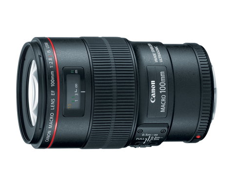 Canon EF 100mm f/2.8L Macro IS USM by Canon at B&C Camera