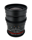 ROKINON 35mm T1.5 Cine VDSLR Wide-Angle Lens for Canon - B&C Camera - 2