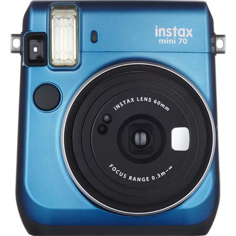 Fujifilm Instax Mini 70 Instant Camera - Blue - B&C Camera