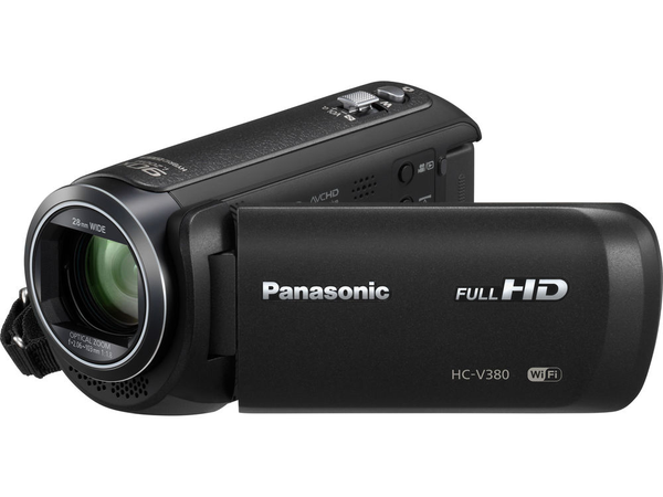 Panasonic HC-V380K Full HD Camcorder by Panasonic at B&C Camera