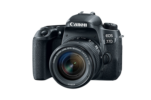 Canon EOS 77D EF-S 18-55 IS STM Kit by Canon at B&C Camera