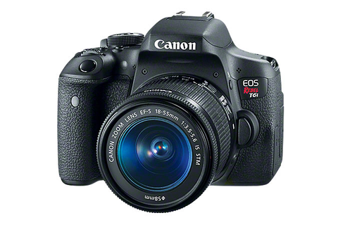 Canon EOS Rebel T6i 18-135 STM Kit by Canon at bandccamera