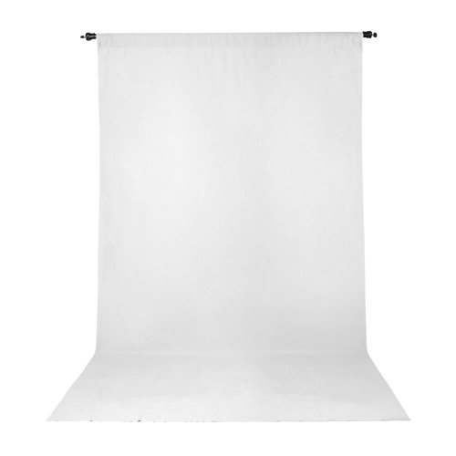 Wrinkle Resistant Backdrop 10'x20' - White