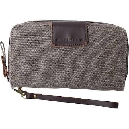 Kelly Moore Bag - Canvas Wallet - Brown by Kelly Moore at bandccamera