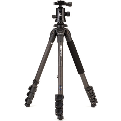 Benro TAD18CB1 Series 1 Adventure Carbon Fiber Tripod with B1 Ball Head by Benro at B&C Camera