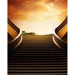Promaster Scenic Backdrop 8' x 10' - Stairs - B&C Camera