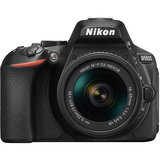 Nikon D5600 DX-format Digital SLR Body (Black) w/ AF-P DX NIKKOR 18-55mm f/3.5-5.6G VR