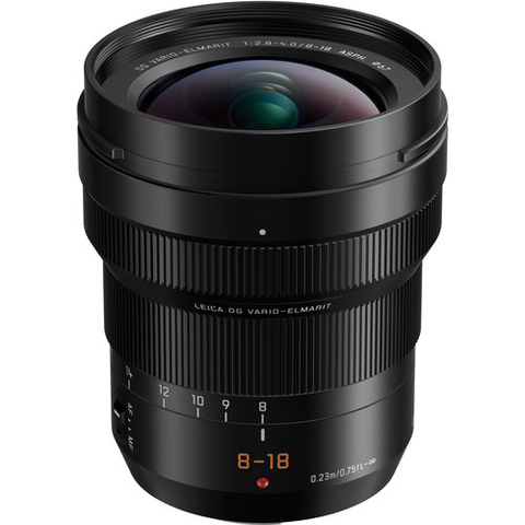 Panasonic Leica DG Vario-Elmarit 8-18mm f/2.8-4 ASPH. Lens by Panasonic at bandccamera