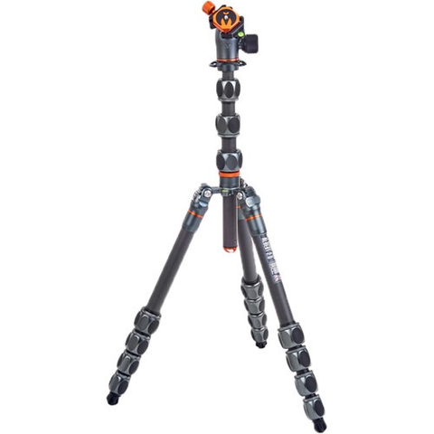 3 Legged Thing Albert 2.0 Tripod Kit with AirHed Pro Ball Head (Gray)