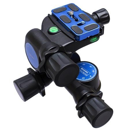 Benro GD3WH Precision Geared Tripod Head