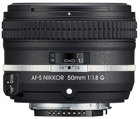 Nikon AF-S NIKKOR 50mm f/1.8G Special Edition Lens by Nikon at bandccamera