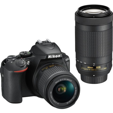 D5600 DX-format Digital SLR
