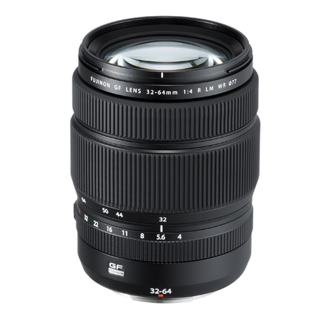 Fuji GF 32-64mm f 4.0 R LM WR GFX by Fujifilm at B&C Camera