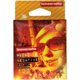Lomography Redscale 100 Color Negative Film (120 Roll, 3 Pack)