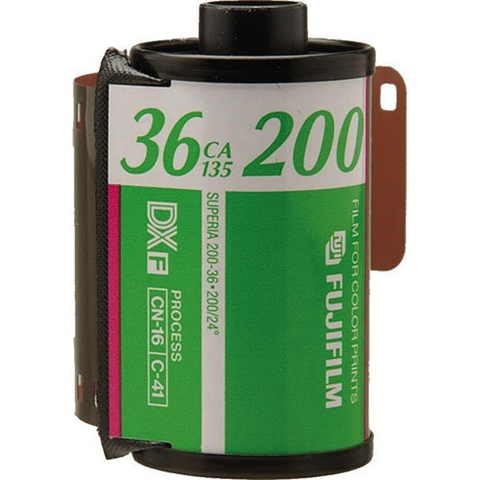 FujiFilm 200-36 Boxed Color Print Film by Fujifilm at bandccamera
