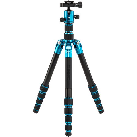 Benro Tripster Travel Tripod (1 Series, Blue, Aluminum) by Benro at bandccamera