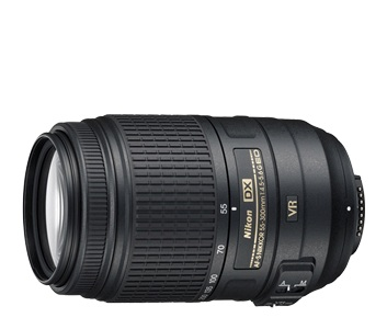 Nikon AF-S DX NIKKOR 55-300mm f/4.5-5.6G ED VR Lens by Nikon at bandccamera