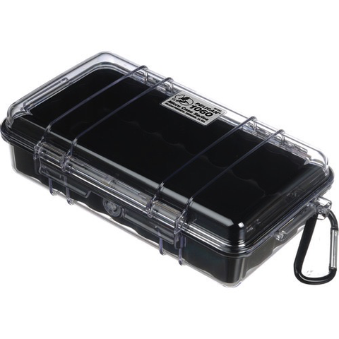 Pelican 1060 Micro Case (Clear/Black) - B&C Camera - 1