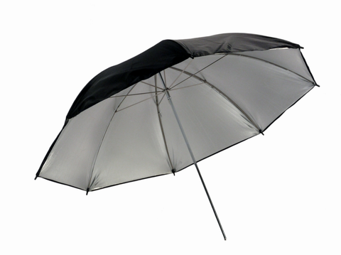 "Promaster 45"" Professional Series Black/Silver Umbrella by Promaster at B&C Camera"