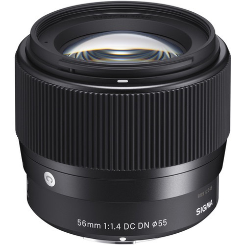 Sigma 56mm f/1.4 DC DN Contemporary Lens for Micro Four Thirds by Sigma at B&C Camera