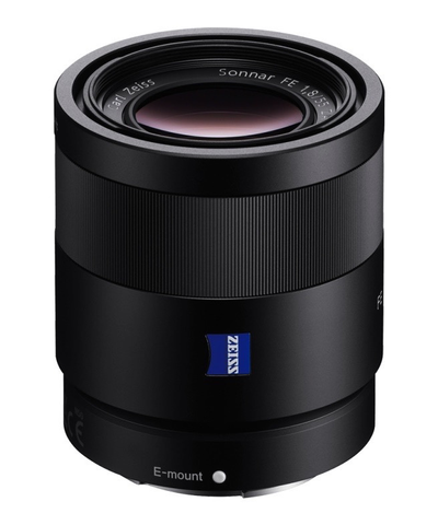 Sony Sonnar T* FE 55mm f/1.8 ZA Lens by Sony at bandccamera