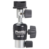 Phottix US-A2 Umbrella Swivel for On-Camera Flash - B&C Camera