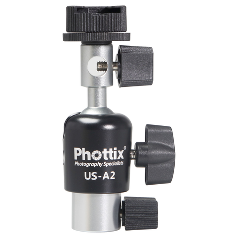 Phottix US-A2 Umbrella Swivel for On-Camera Flash by Mac Group at bandccamera