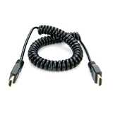Atomos ATOMCAB010 Coiled Full HDMI to Full HDMI Cable (30-45cm) - B&C Camera