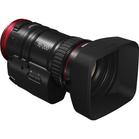 Canon CN-E 70-200mm T4.4 Compact-Servo Cine Zoom Lens (EF Mount) by Canon at bandccamera