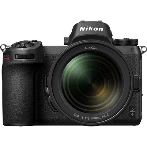 Nikon Z6 Mirrorless Digital Camera with 24-70mm Lens by Nikon at B&C Camera