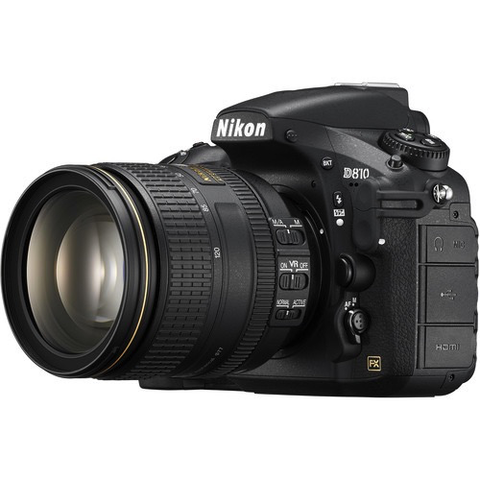 Nikon D810 DSLR Camera with 24-120mm Lens - B&C Camera - 1