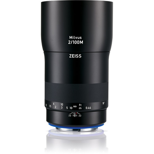 Zeiss Milvus 100mm f/2M ZE Lens for Canon EF Mount by Zeiss at B&C Camera