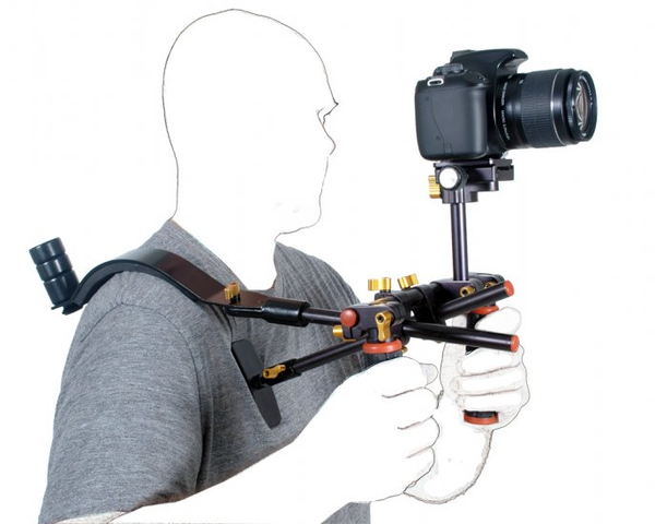 Dotline Double Handle Rig with Shoulder - B&C Camera