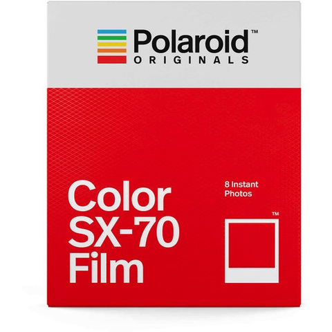 Polaroid Originals Color SX-70 Instant Film (8 Exposures) by Polaroid at B&C Camera