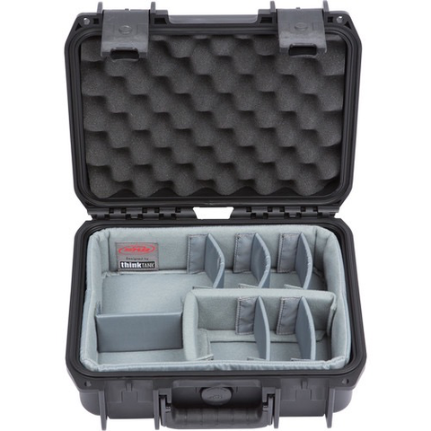 SKB 1209-4DT Case with Think Tank Designed Dividers (Black)