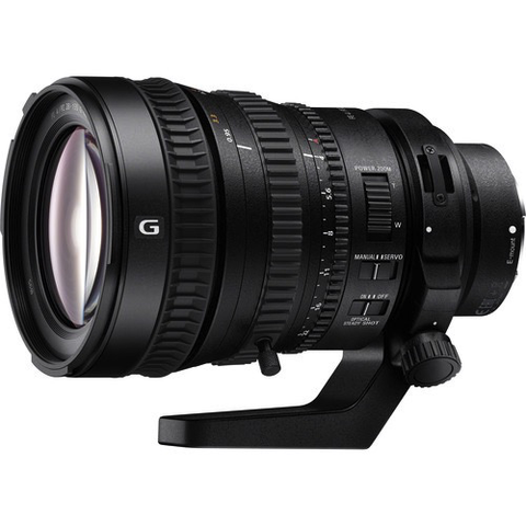 Sony FE PZ 28-135mm f/4 G OSS Lens by Sony at bandccamera