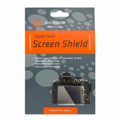 Promaster Crystal Touch Screen Shield for Nikon D800, D810 by Promaster at B&C Camera