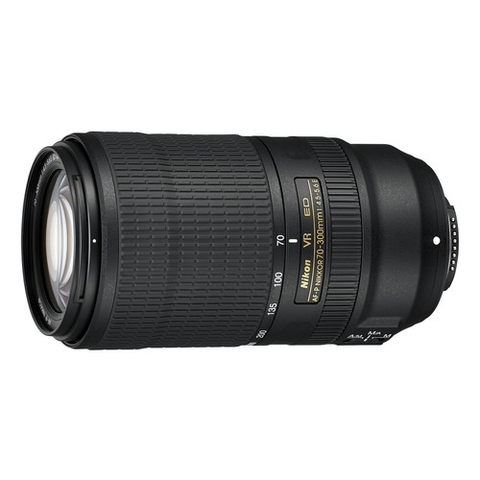 Nikon AF-P NIKKOR 70-300mm f/4.5-5.6E ED VR Lens by Nikon at B&C Camera