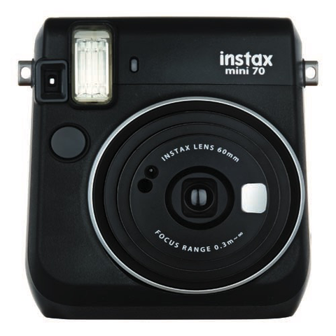 FujiFilm Instax Mini 70 Instant Camera - Black FujiFilm Instax Mini 70 Instant Camera - Black by Fujifilm at B&C Camera